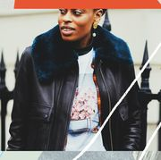Jacket, Street fashion, Album cover, Leather jacket, Cool, Leather, Music artist, Textile, Photography, Black hair,