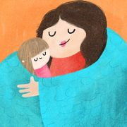 this mom's hand woven weighted blankets can help people with sensory processing disorders