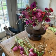 Lewis Miller floral arrangement