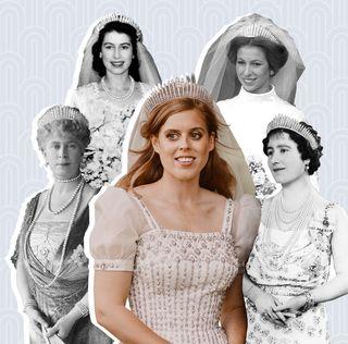 tiara, wedding, royals