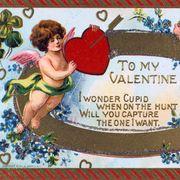 'To My Valentine', American Valentine card, c1908. Artist: Anon