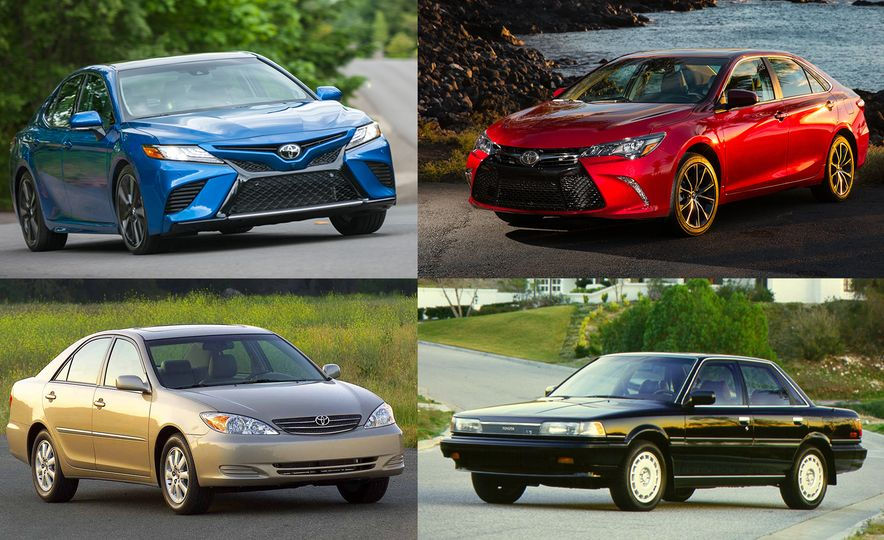 50 Shades of Beige: A Visual History of the Toyota Camry - Slide 1