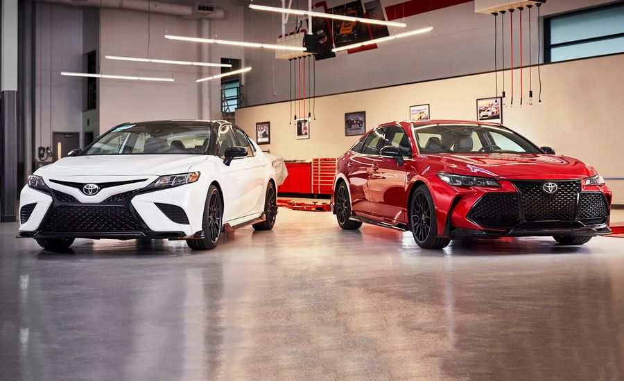 Toyota Is Making TRD Versions of the Avalon and Camry