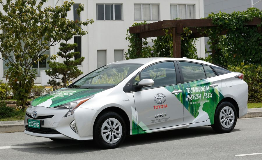 Power from Plants: Toyota Experiments with a Flex-Fuel Prius