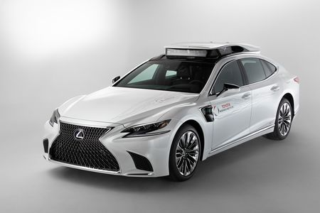 This Is Toyota's New Lexus LS Autonomous Test Car