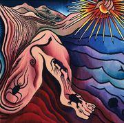 Psychedelic art, Art, Illustration, Modern art, Visual arts, Fictional character, Mythology, Painting,