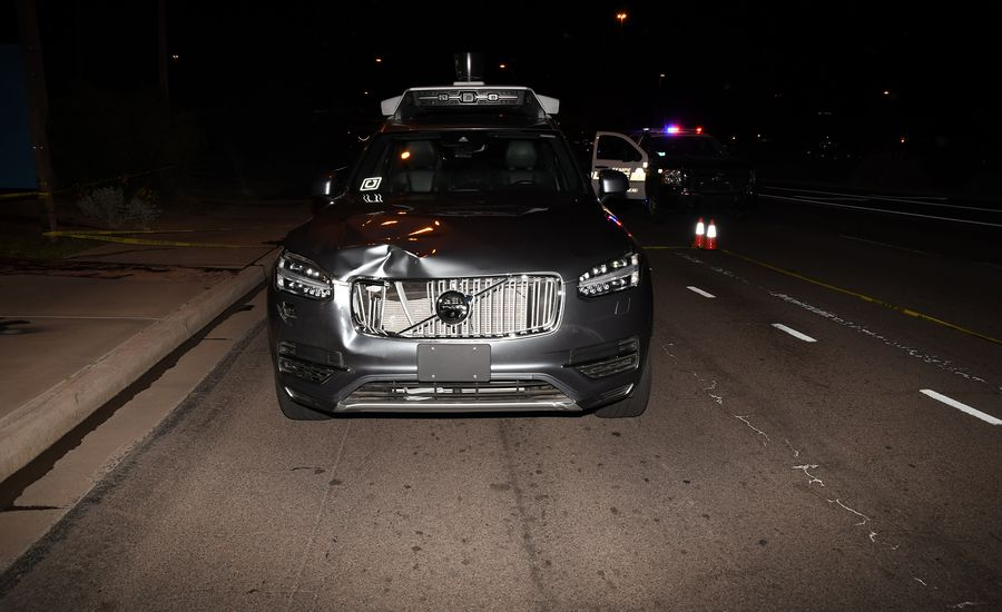 "Police: Autonomous Uber's Driver Was Watching ""The Voice"" at Time of Fatal Crash"