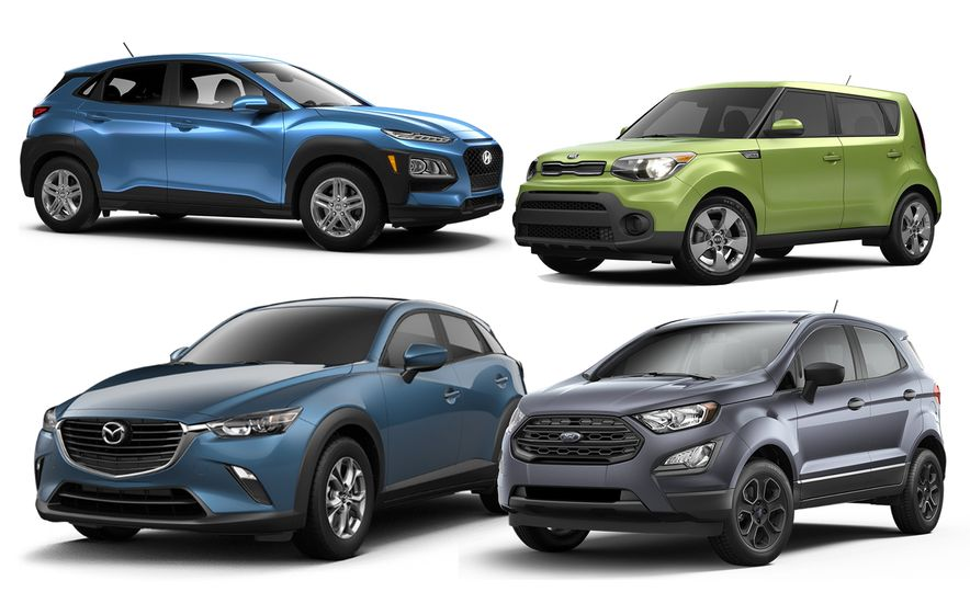 The 10 Cheapest New Crossovers and SUVs of 2018 - Slide 1