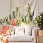 Cactus, Botany, Room, Plant, Flower, Saguaro, Succulent plant, Still life photography, Wallpaper, Interior design,