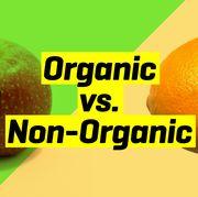 organic vs nonorganic