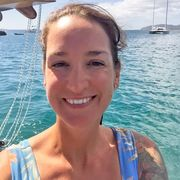 sarm on a boat at sea