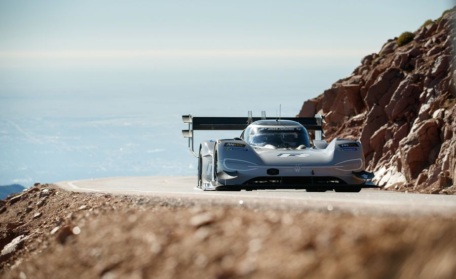 Lightning in the Clouds: How Volkswagen's Electric Racer Conquered Pikes Peak