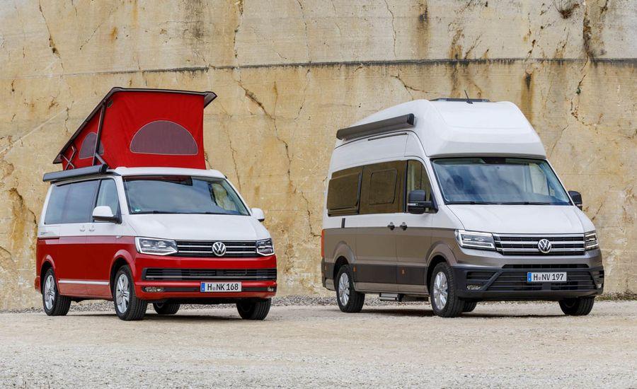 Volkswagen's Latest Pop-Top Camper Van Has Everything, including the Kitchen Sink