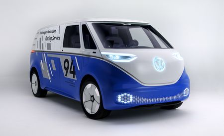 Volkswagen I D Buzz Cargo Concept Reimagined As Race Support Van