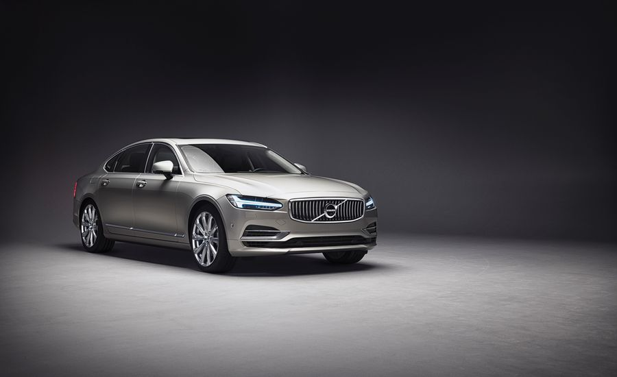 Sight, Sound, Smell: Volvo S90 Ambience Concept
