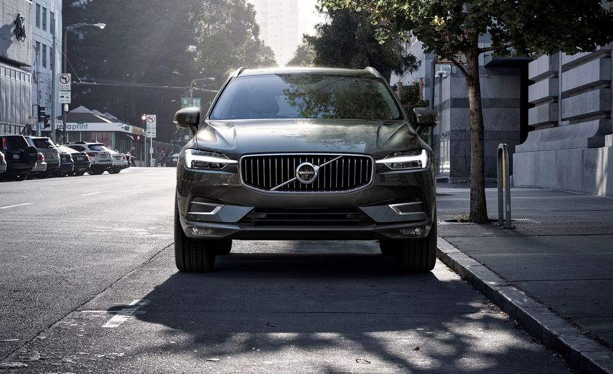 From Driftwood Trim to a Crystal Shift Knob, the Volvo XC60's Details Set It Apart - Slide 1