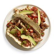 smoky pb chicken tacos