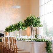 wedding centerpiece greenery