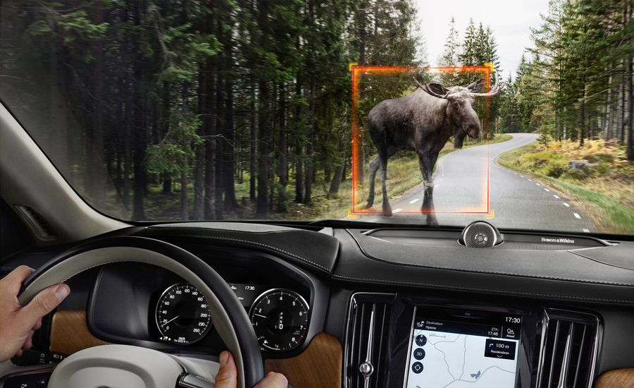 What Happens When You Actually Hit a Moose? Volvo Has a Moose-Strike Test for That.