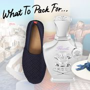 what to pack for santorini