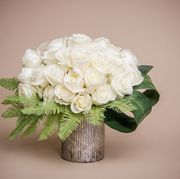 white roses times up valentines day