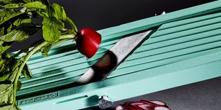 Green, Red, Still life photography, Table, Material property, Technology, Vegetable, Plant, Cutlery, Food,