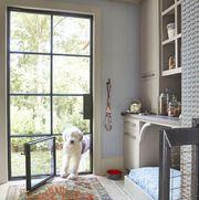 Room, Property, Furniture, Interior design, Home, Yellow, Floor, House, Building, Window,