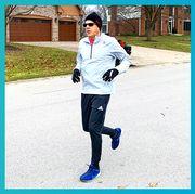 clothing, footwear, sportswear, outerwear, shoe, running, sleeve, recreation, leg, font,