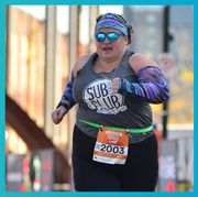 Goggles, Text, Endurance sports, Cap, Sportswear, Font, Individual sports, Athlete, Electric blue, Quadrathlon,