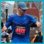 Recreation, Running, Endurance sports, Marathon, Sports, Long-distance running, Font, Half marathon, Individual sports, Electric blue,