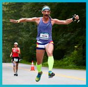 Sports, Athlete, Footwear, Individual sports, Running, Recreation, Endurance sports, Muscle, Long-distance running, Exercise,