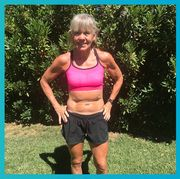 Muscle, Abdomen, Athlete, Exercise, Arm, Physical fitness, Undergarment, Running, Recreation, Sports bra,