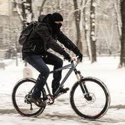 winter bike commuting