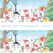 winter differences puzzle