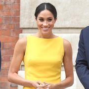 meghan markle kate middleton yellow dresses