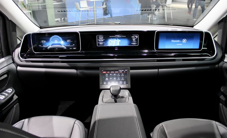 This Car Cockpit of the Future Features Joystick Control and No Pedals