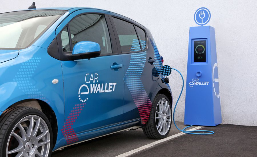 ZF's Car eWallet Uses Blockchain to Pay for Charging, Tolls, and More