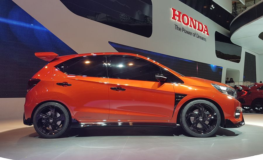 Honey I Shrunk The Type R Honda Debuts Spunky Small RS Concept