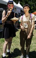 VARIOUS PORTRAITS AND THE SCENES AT THE 2017 BURGER BOOGALOO IN MOSSWOOD PARK, OAKLAND, CALIFORNIA