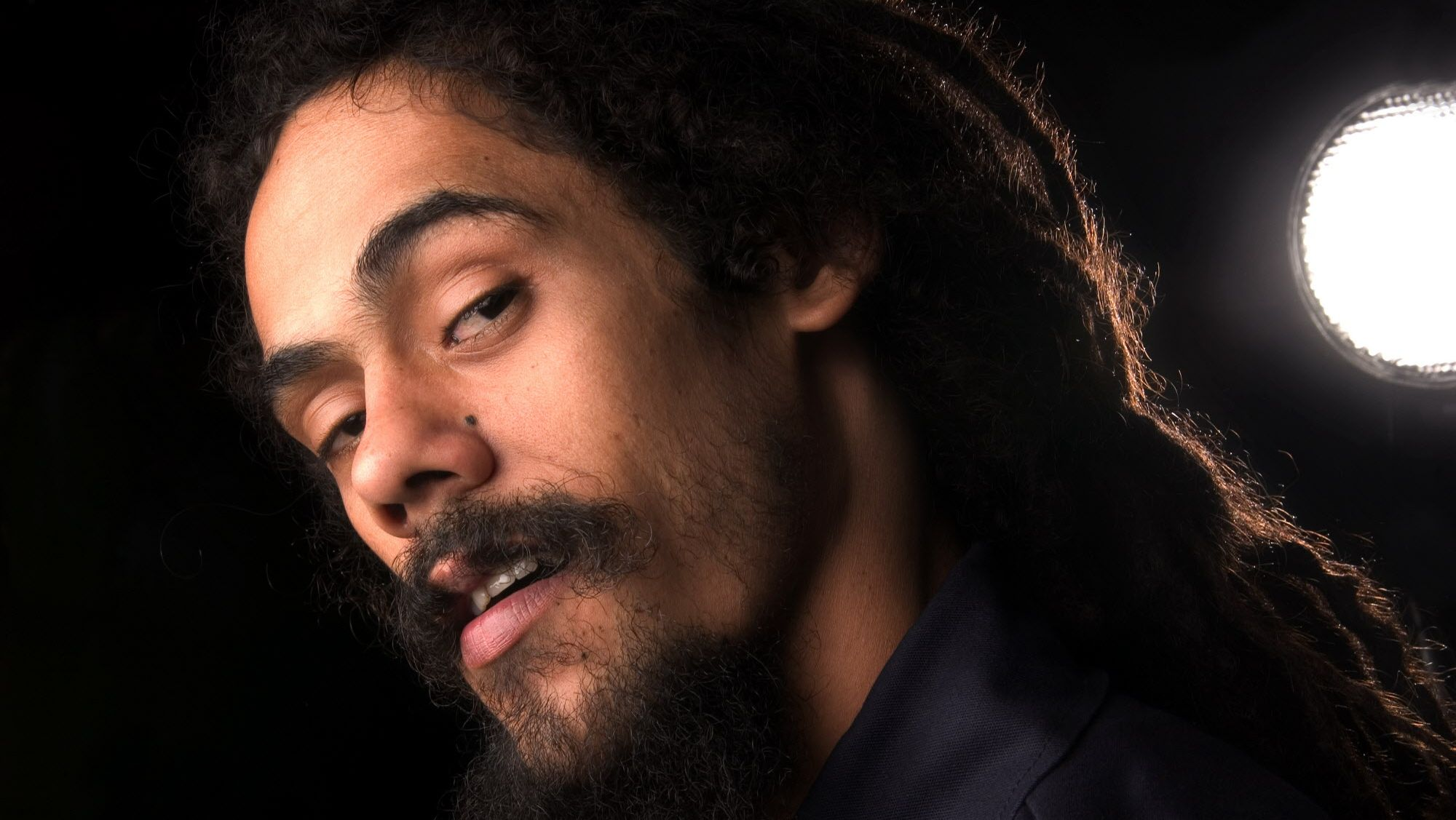 Reggae singer Damian Marley helped buy a controlling interest in High Times.  (AP Photo/Jim Cooper)