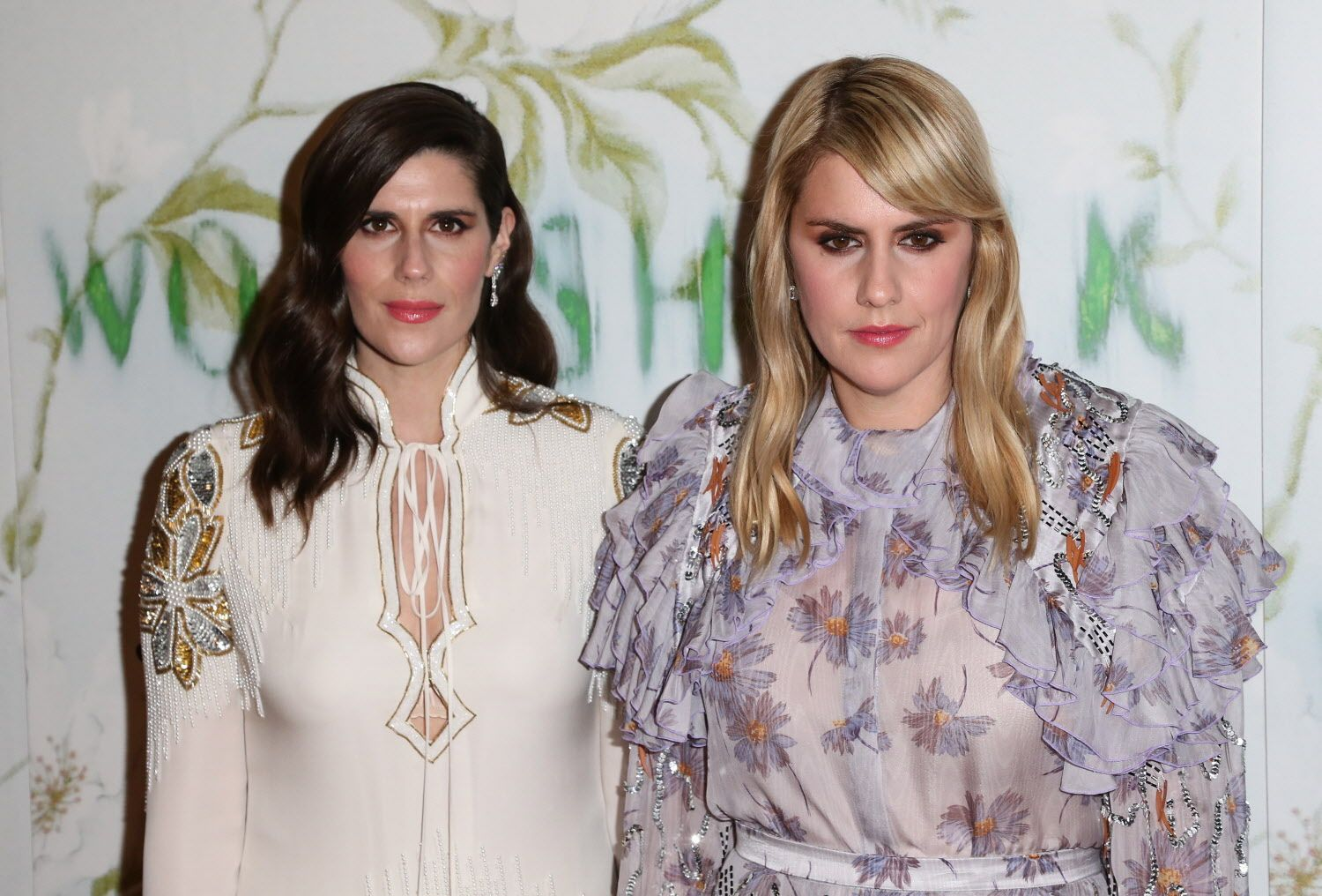 Laura Mulleavy and Kate Mulleavy are photographed on Sept. 18, 2017 at the 'Woodshock' film premiere in Los Angeles. (Buchan/Rex Shutterstock/Zuma Press/TNS)