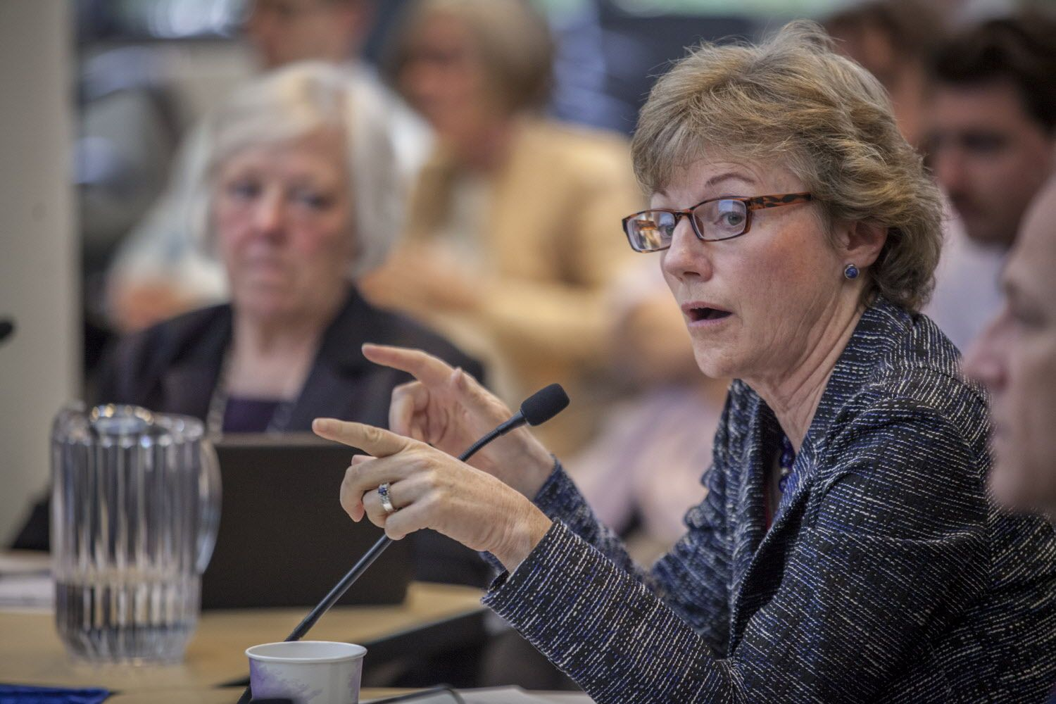 Walnut Creek City Council member Cindy Silva during the public comment and official discussion of locally implementing Prop 64 - marijuana legalization Tuesday 16  May 2017 at Walnut Creek City Hall in Walnut Creek, CA. (Peter DaSilva Special to the Chronicle)