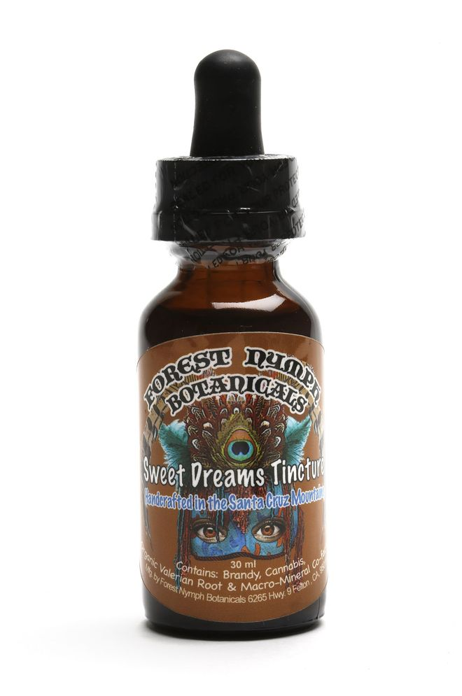 Sweet Dreams Tincture from Forest Nymph Botanicals on Wednesday, June 7, 2017, in San Francisco, Calif.