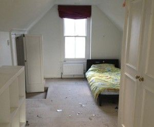 Two Attic Rooms Turned Into A Contemporary Bedroom And Ensuite