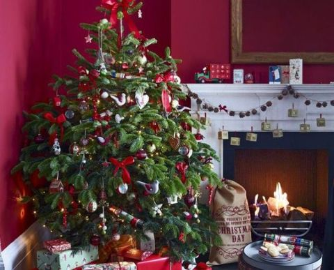 select your theme from these gorgeous looks and use this how to decorate a christmas tree guide to create a stunning centrepiece for your room