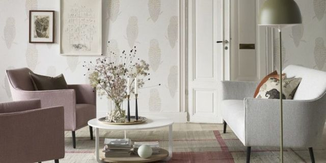 Living Room Colour Schemes. Wallpaper, Brooklyn Beige, New York Stories  Collection, £84 A 10 Metre Roll, Sandberg