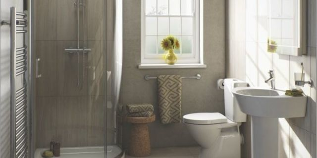 4 Tips For Small Bathrooms