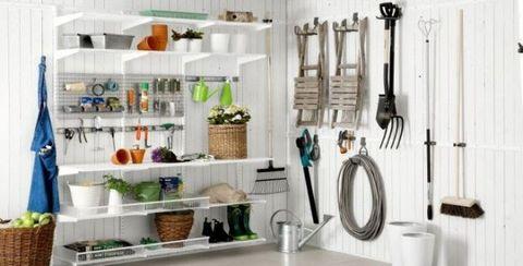 Room, Shelf, Furniture, Interior design, Shelving, Bathroom, Kitchen, Building, Floor, Countertop,