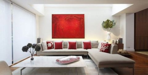Wood, Room, Interior design, Living room, Wall, Furniture, Home, Couch, Red, Floor,