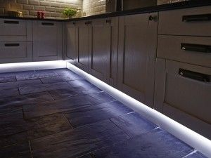 Kitchen Lighting - Kitchen plinth strip lighting